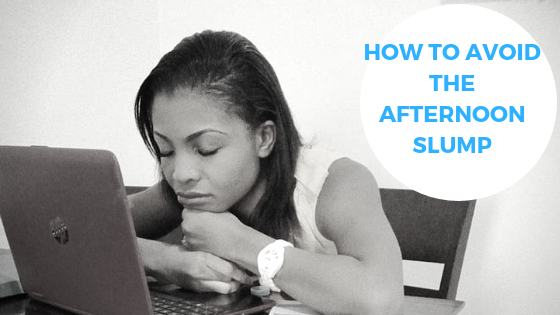 5 ways to avoid the afternoon slump after lunch